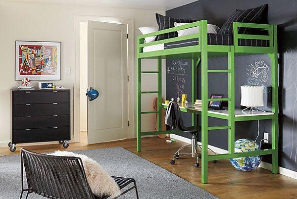 33 лучшие двухъярусные детские кровати или про кровати-чердаки со столом для…