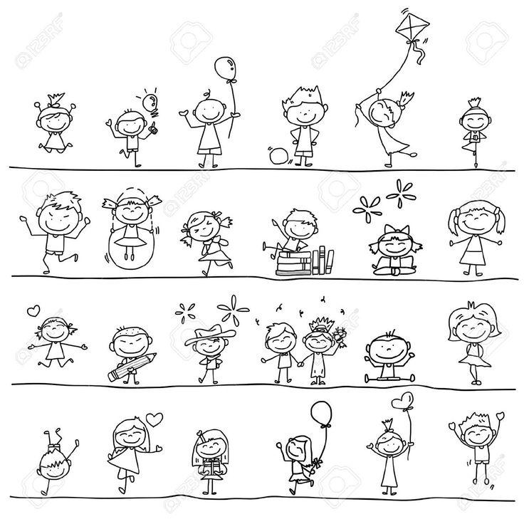dessin personnage facile - Recherche Google