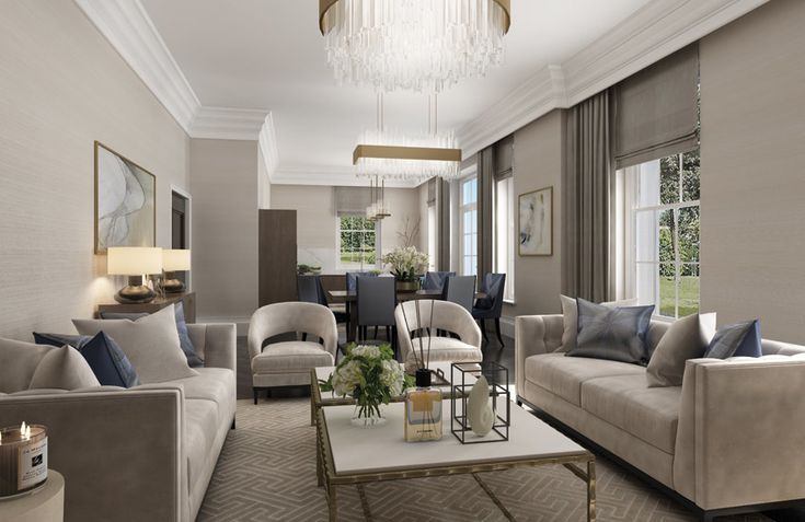 How to Arrange Living Room Furniture: Layout Ideas in 2020 ...
