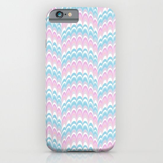Marbling Comb - Baby iPhone & iPod Case Mia Valdez© http://society6.com/product/marbling-comb-baby_iphone-case#52=377