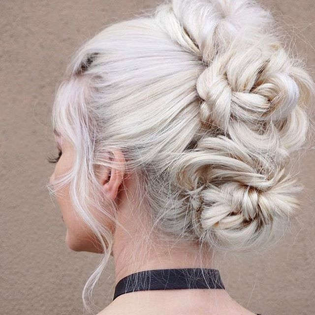 Three buns are better than one. Triple action faux hawk via @maggiemh. #T3Micro #T3Inspo