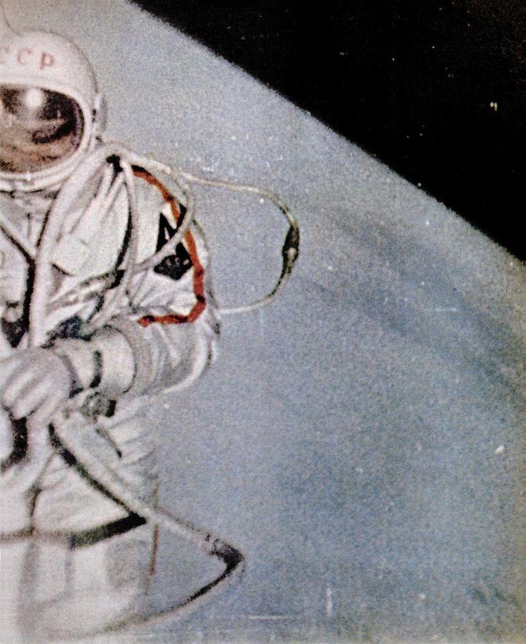 March 18, 1965 - Alexey Leonov cosmonaut