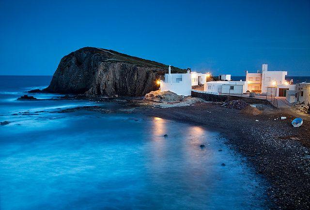 Spain - Cabo de Gata : Peaceful Twilight by John & Tina Reid, via Flickr