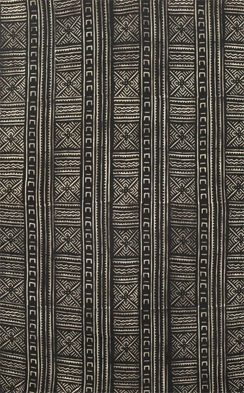 Africa. Bogolanfini textile from Mali