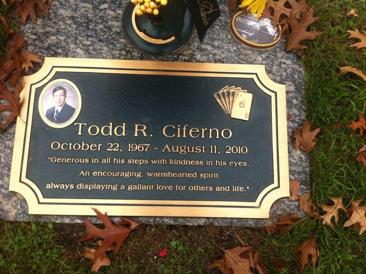 Todd Raymond Ciferno (1967 - 2010) - Find A Grave Photos