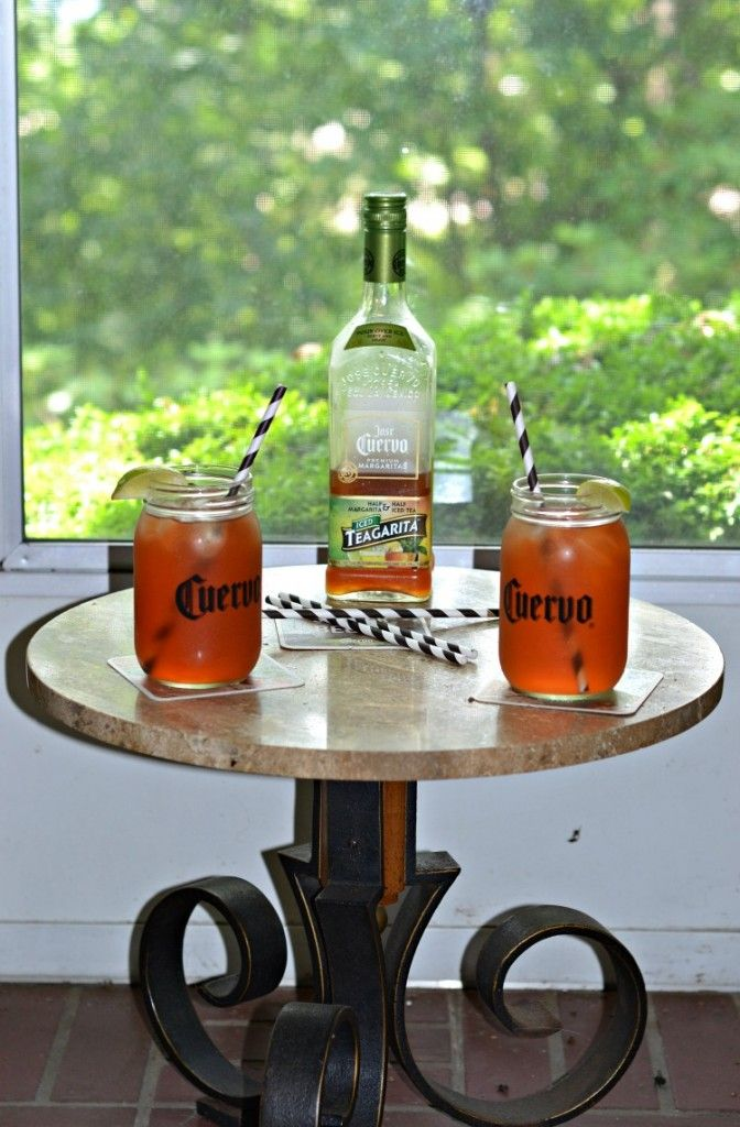 ose Cuervo Iced Teagarita™ is a delicious ready to serve cocktail!