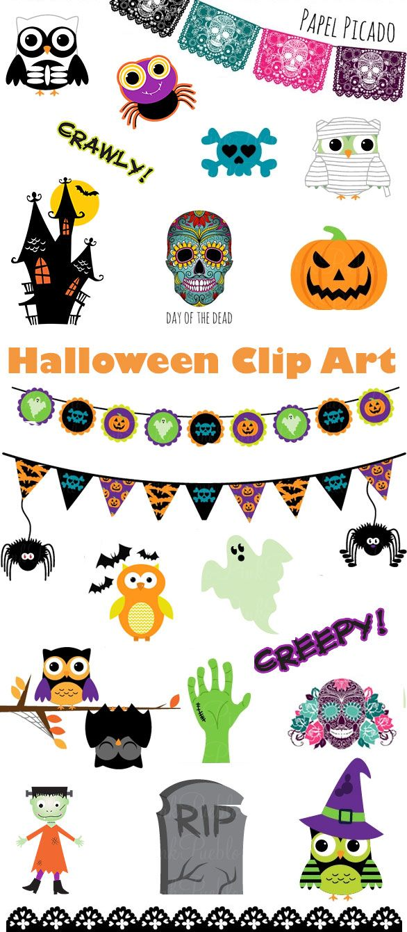 #papercraft #Halloween #clipart Check out PaperCraftersCorner.com for tons of scary-ggood papercrafting ideas for Halloween. Posts weekly and prizes!