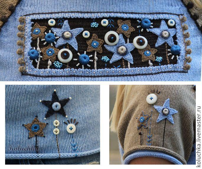 Кофты и свитера ручной работы. rish crochet. Кружевные шедевры Лены Статкевич…