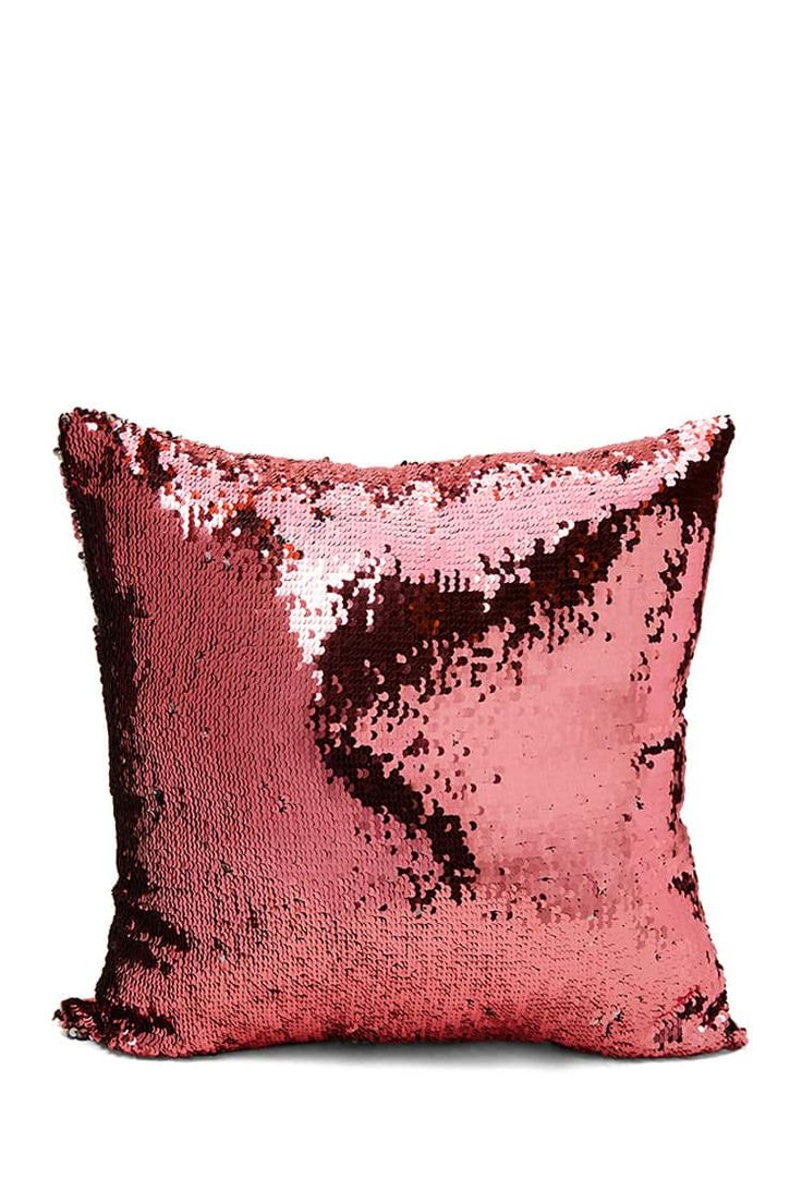 Reversible Sequin Throw Pillow