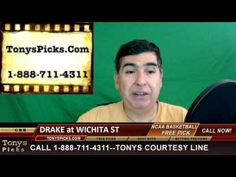 Drake Bulldogs vs. Wichita St Shockers Pick Prediction College Basketbal...