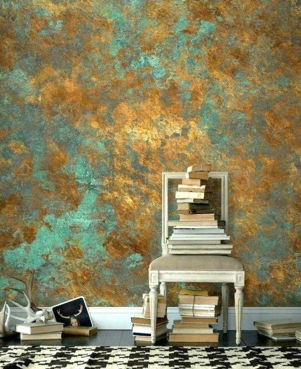 Paint The Walls With The Sponge Technique Instructions Tips And Tricks In 2020 Dekorative Gemalde Maltechniken Schwamm Malerei