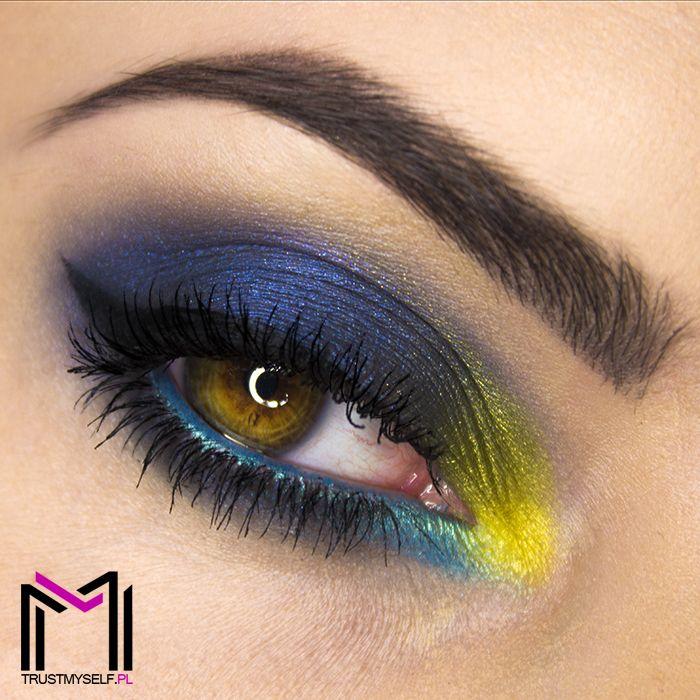 """Stormy Limone"" by Trust Myself using the Makeup Geek Mermaid, Nautica, and Pixie Dust eyeshadows!"