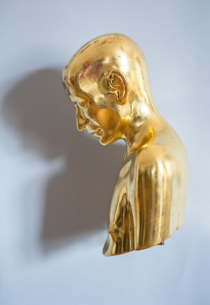 Richard Stipl, Everything is true, nothing is real, 2014, Wood, silver and gold…
