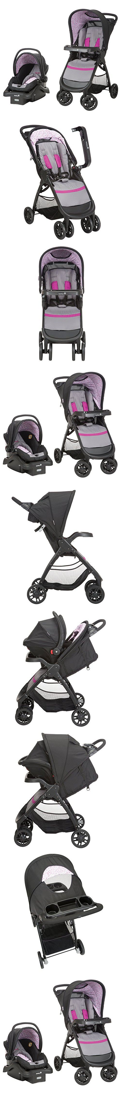 Safety 1st Amble Quad Travel System with onBoard22, Sorbet