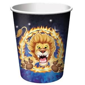 No 132 - Big Top Birthday Cups, Hot/Cold (266ml) Paper - Pack of 8. For more details, go to our facebook page: www.facebook.com/popitinaboxbusiness