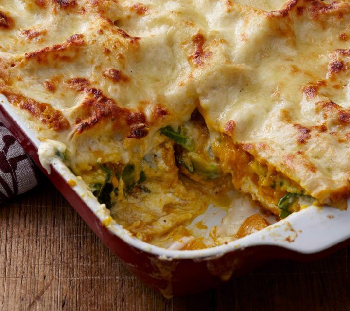 Pumpkin Lovers' Lasagna