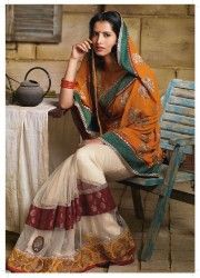 The different sarees found in the country are Banarasi, silk, chiffon, chanderi, tant, sambalpuri, kosa, nauvari, georgette, bandhani, and net sarees. These are the most exclusive collection of sarees found anywhere in the world for the women.