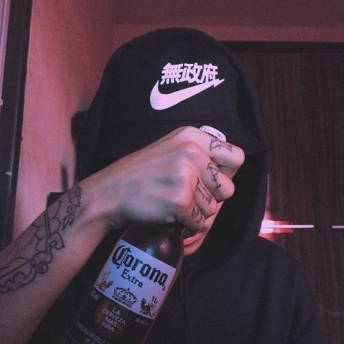 Light Blue Aesthetic Grunge Boy
