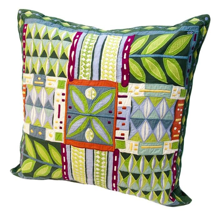 Susan Sargent Rain Forest Pillow