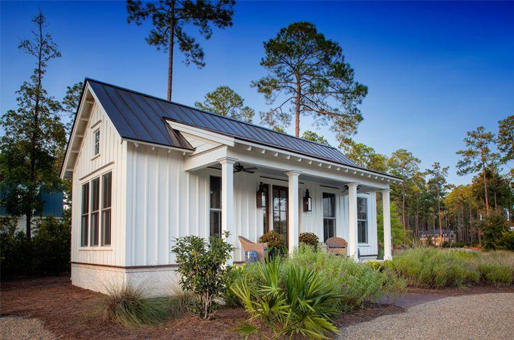 The completed interior design project - Palmetto Bluff Cottage. South Carolina interior design .