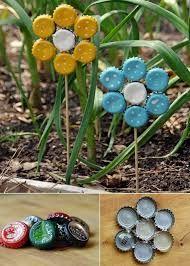 15 Fun Garden Art Crafts zum Auffrischen Ihres Gartens | Wie macht sie   – Basteln