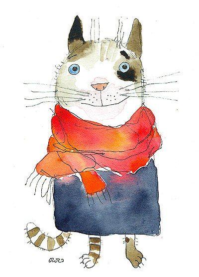 """""""Un gatito transforma el regreso a una casa vacía en la vuelta al hogar."""" - Pam Brown"""