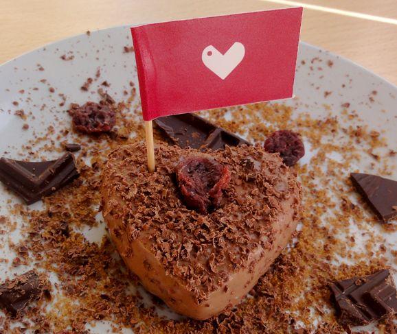 Bavarese vegan al cioccolato #Ricetta #Bavarese #Vegan #Cioccolato