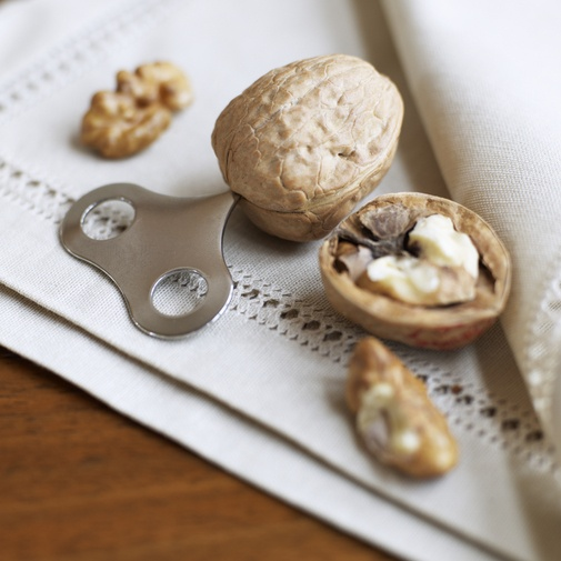 I love baking with walnuts and this is much neater than using a nut cracker.