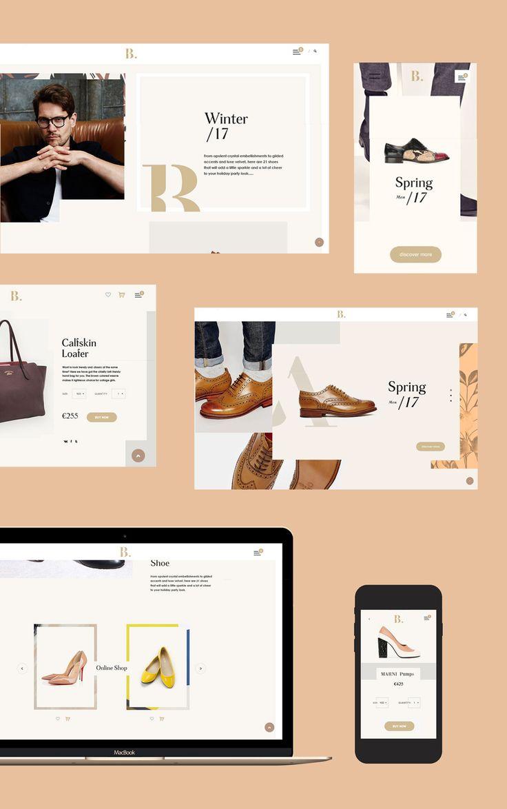 """eCommerce Web Design - Come check out """"Benjamin"""" Website Design by Emblem - www.emblem.ie"""