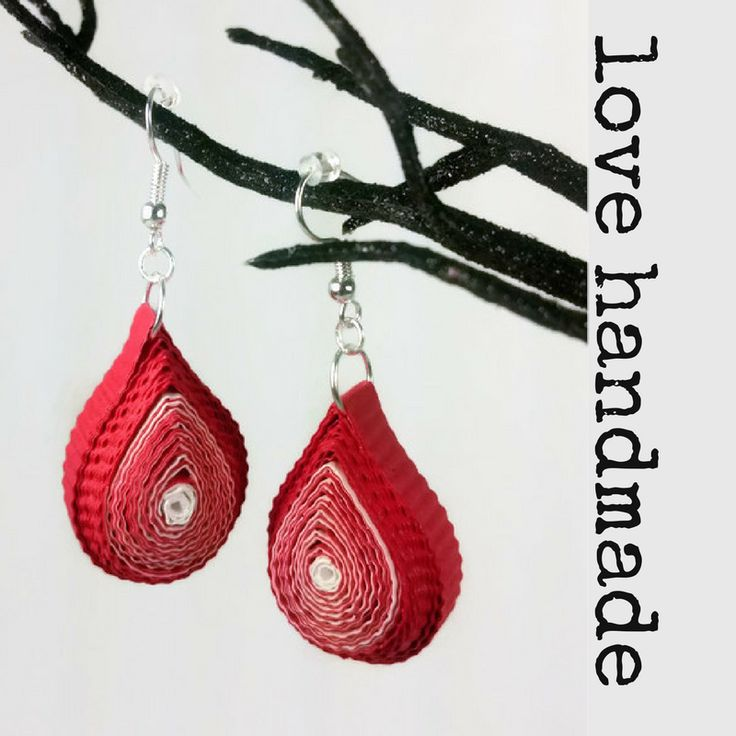 Super unique #jewelrygifts #handmade with love and paper for #mothersday.