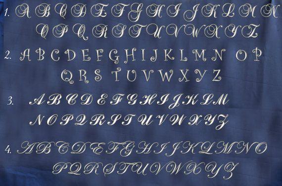 22 inch  Script cursive letter  Wedding by AlphabetBoutique123, $21.75