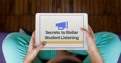 Free Student Listening Workshop   True story:  I was tired of repeating directions and instructions over and over and over again in the classroom. I was also frustrated with the noise level  and how when I really need to get my students attention I had defaulted to trying to talk over them in order to be heard. I also knew a few students were good listeners and I wondered how I could get the rest of the class on that route. I knew there had to be something out there that would help me to teach my students how to be active listeners {before I lost my marbles}  but when I did Internet searches most came back for ESL listening activities. Hmmmmmmmy students werent ESL students. In fact their English was definitely front and center. Especially during the school-wide assembly when I wanted to crawl in a hole and hide until it was over. lol. Stop by Organized Classroom and sign up for a FREE on-demand workshop which also includes a printable certificate of attendance to be used for continuing education credits! See you there! Charity  3-5 6-8 9-12 PK-2 professional development professional resources