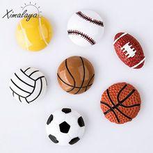 Ximalaya Paketi 7 Spor Buzdolabı Mıknatısı Basketbol Futbol Voleybol Tenis Beyzbol Ev Dekorasyon(China (Mainland))