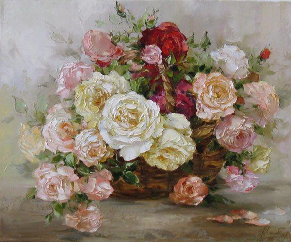 Кравченко Оксана. Корзина роз