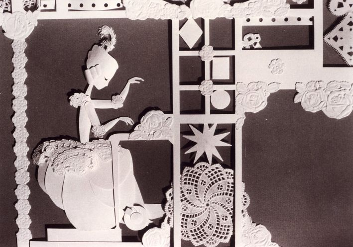 Short film Les 3 inventeurs 1979 Directed by Michel Ocelot. Paper craft animation, so pretty!