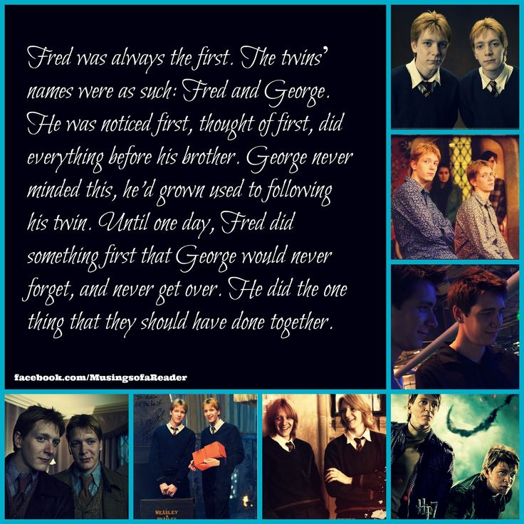 i Love Fred and George. #HarryPotter #FredWeasley #GeorgeWeasley #Hogwarts #JKRowling #Magic #Always #Books #bookworm #always #HarryPotter #BackToHogwarts #BookLover #Readers