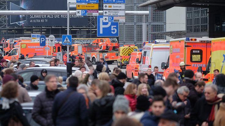 Evakuierung nach Atemwegsreizungen: Reizgas legt Flughafen Hamburg zeitweilig lahm
