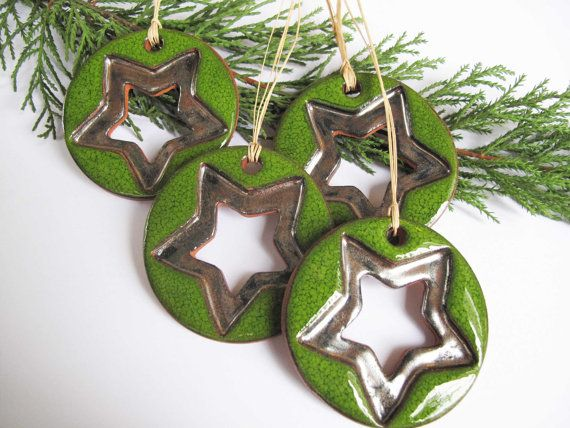 Lovely ceramic ornaments.