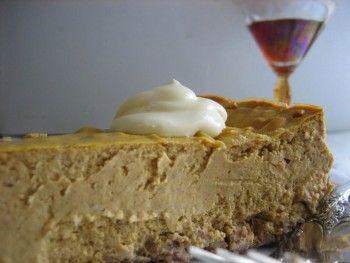 Low Carb Pumpkin Cheesecake
