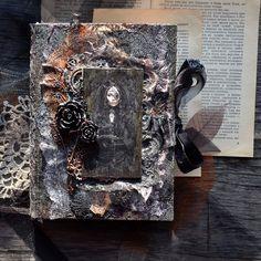 """Myscrape: Готический блокнот """"Дневник Ведьмы""""."""