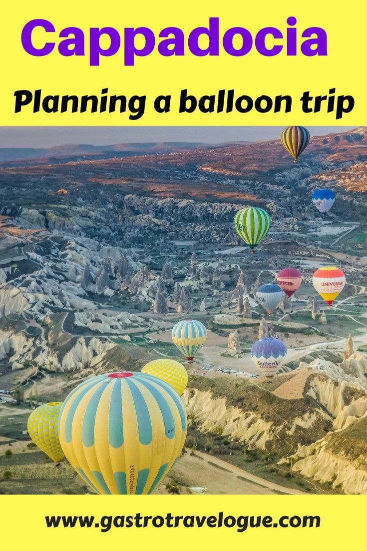 Hot air balloon trip in #Cappadocia #Turkey. All you need to know about the flight, including tips .- www.gastrotravelogue.com