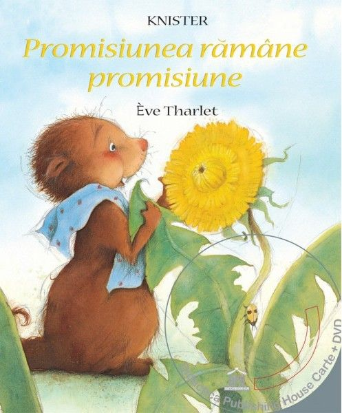 Promisiunea ramane promisiune (Carte + DVD) - Eve Tharlet -  - Ca toate marmotele, Camil isi petrece iarna la caldura, in culcusul sau confortabil de sub pamant