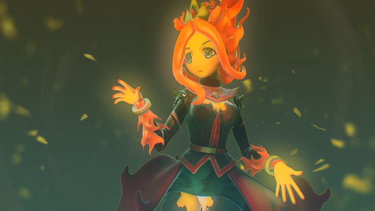 ArtStation - Flame Princess, Foxling D.F