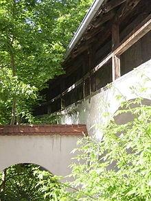 Schongau – Teil der historischen Stadtmauer : Oliver Poetzsch, Die Henkerstochter (The Hangman's Daughter)