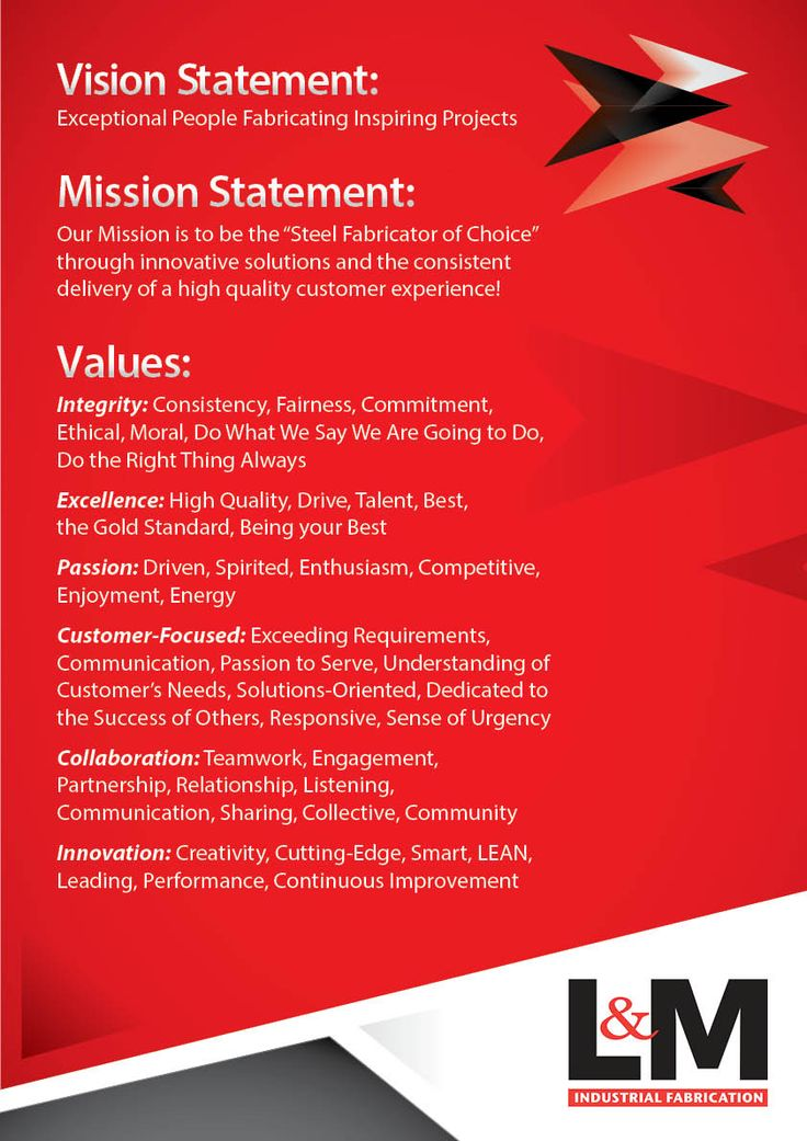 Best Vision Mission Values Images On   Mission Vision