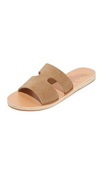 ANCIENT GREEK SANDALS | Apteros Slides #Shoes #ANCIENT GREEK SANDALS