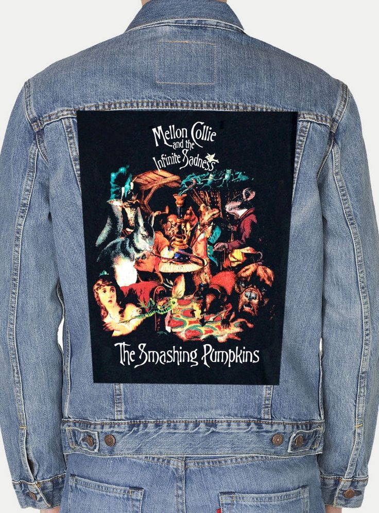 THE SMASHING PUMKINS MELLON COLLIE  GIANT BACK PATCH #Unbranded