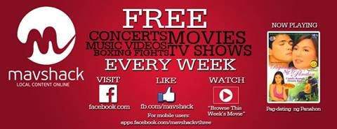 """Watch your favorite movies for free. Now showing """"Ang Utol Kong Hoodlum"""" starring Robin Padilla and Vina Morales! Like our Facebook page at www.facebook.com/... to watch it for FREE!! Follow us on Twitter @MavshackPH"""