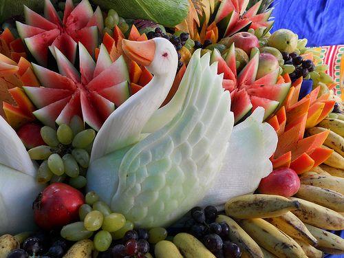 beautiful carving | vegetable carving | Vivek K M | Flickr