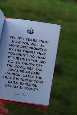explore. dream. discover.  now!: Remember This, Mark Twain Quotes, No Regrets, Marktwain, Senior Quote, Favorite Quotes, Exploring Dreams Discover, Inspiration Quotes, Twenties Years